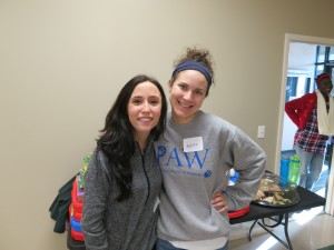 Widener volunteer leaders Nikki Epifani and Ashley Diriendo said they loved sharing MLK Day with CHA kids.